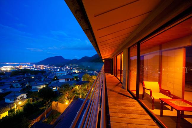眺望の宿しおり海側のお部屋
